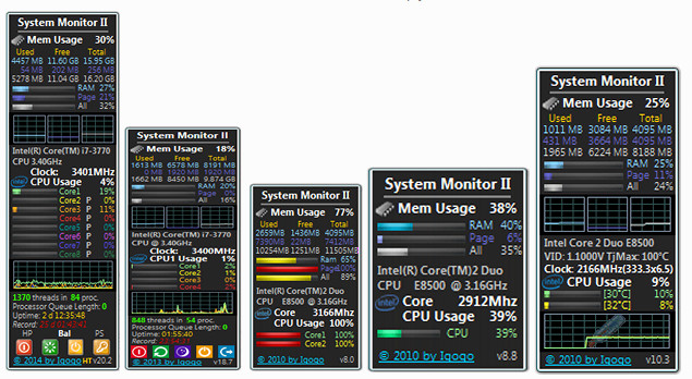 download system monitor II