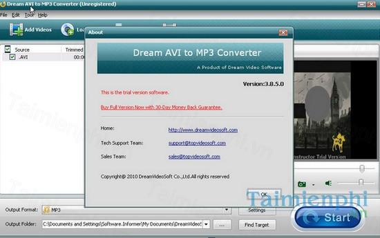 download dream avi to mp3 converter