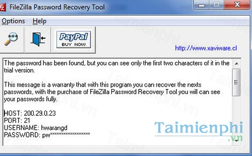 download filezilla password recovery tool