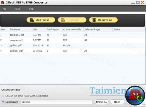 download xilisoft pdf to epub converter