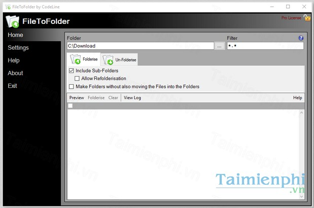 download filetofolder