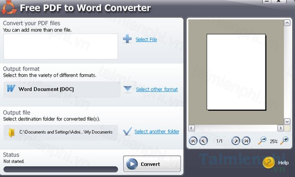 download free pdf to word converter