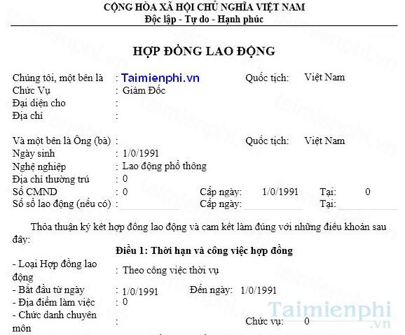 tai hop dong lao dong
