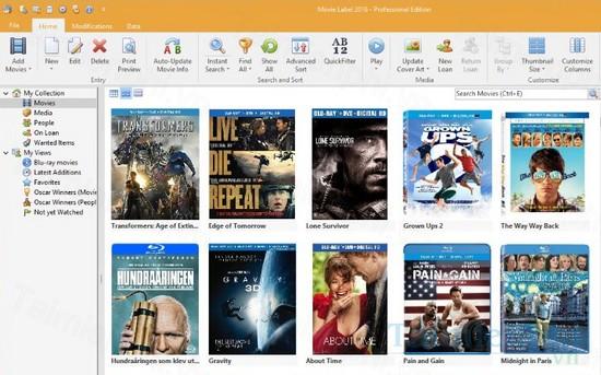 download movie label