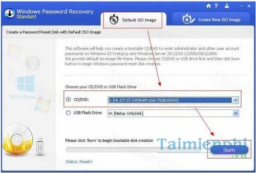 Windows Password Recovery Standard