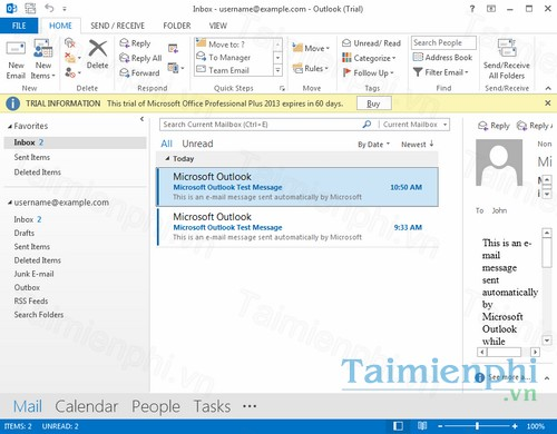 [Download] Tải và cài đặt Outlook 2013 32bit, 64 bit Full Crack miễn phí mới nhất năm 2021 3