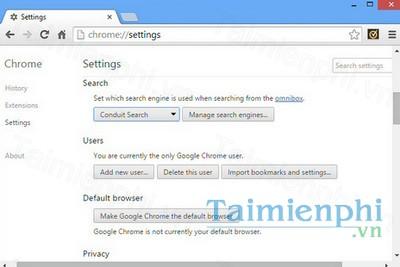 Chrome Clean Tool