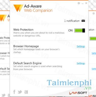 Ad Aware Web Companion