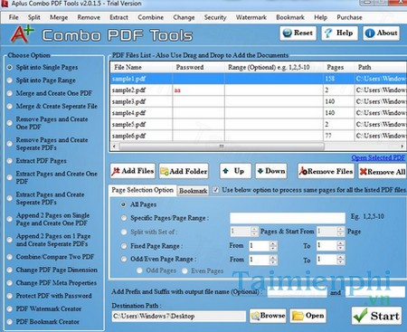 download aplus combo pdf tools
