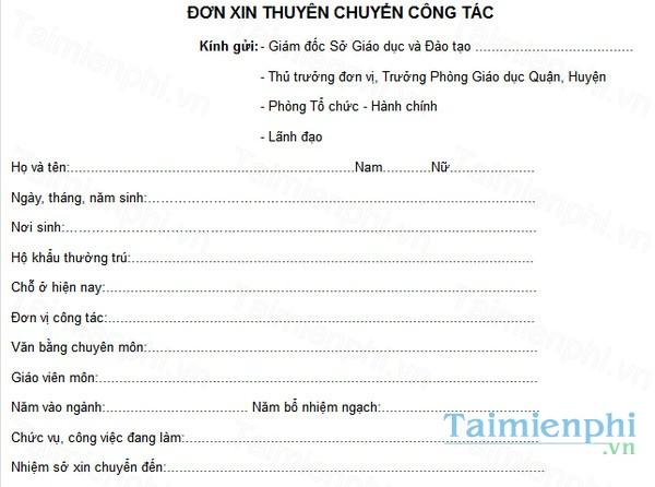 download don xin chuyen cong tac