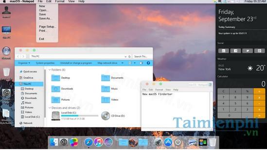 download mac os sierra skin pack