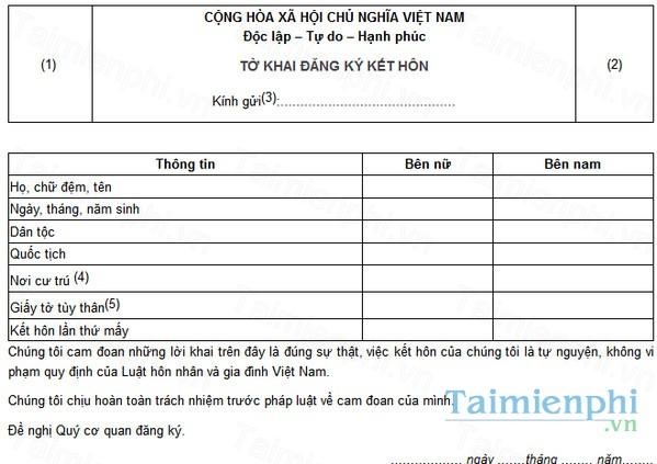 download to khai dang ky ket hon