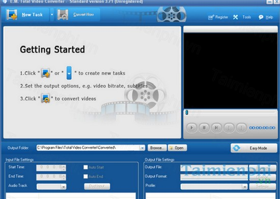 Download Total Video Converter - Chuyển đổi định dạng video