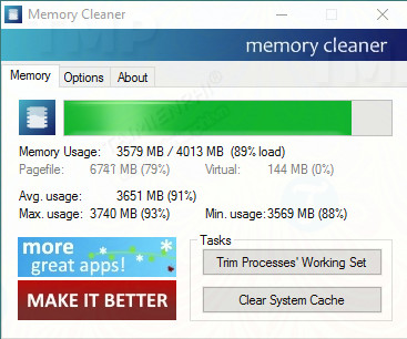 download memory cleaner
