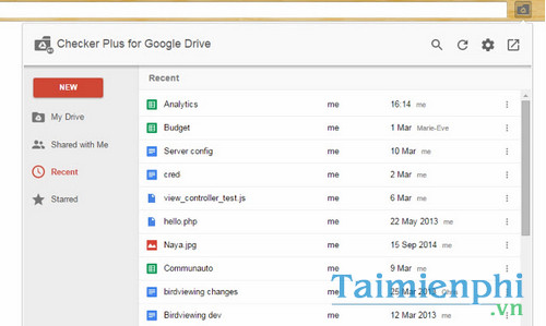 download checker plus for google drive