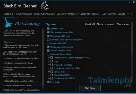 download black bird cleaner