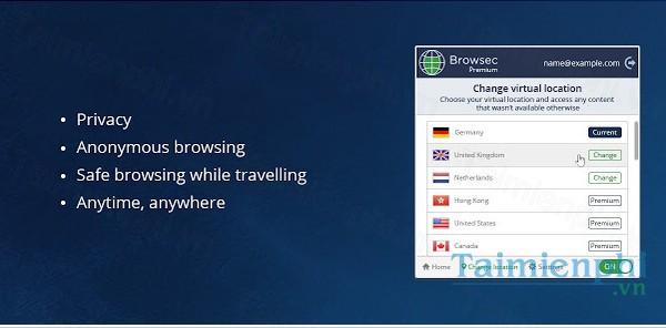 download browsec