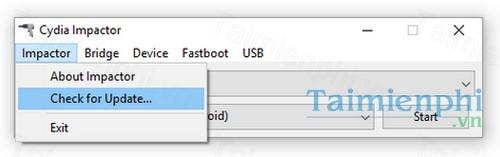 download cydia impactor cho linux 32bit