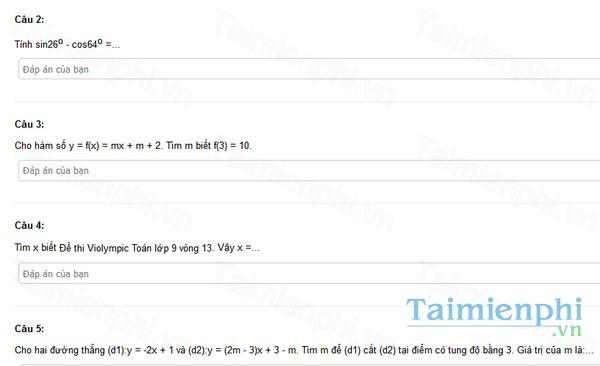 download de thi violympic toan lop 9