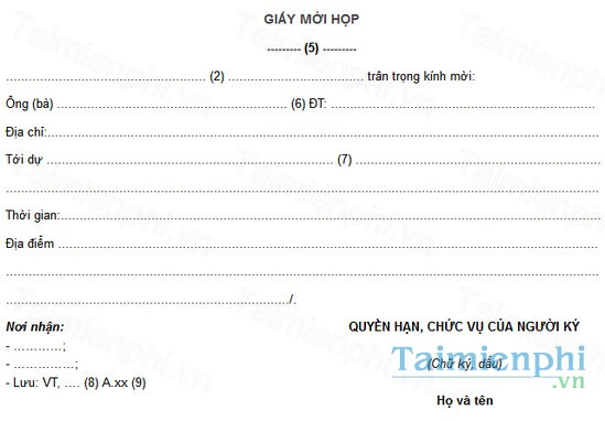 download mau giay moi hop cong ty