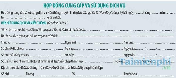 download mau hop dong dich vu vien thong viettel