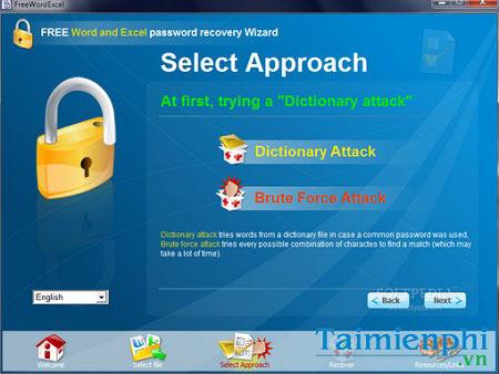 download word and excel password wizard