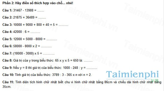 download de thi violympic toan lop 4
