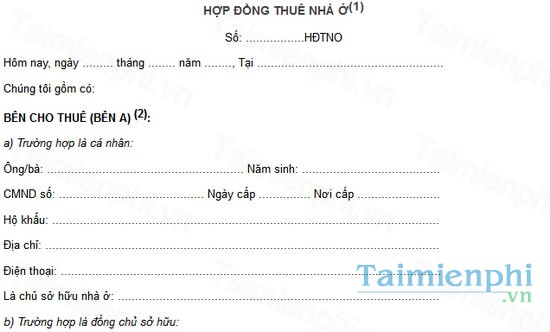 download hop dong thue nha