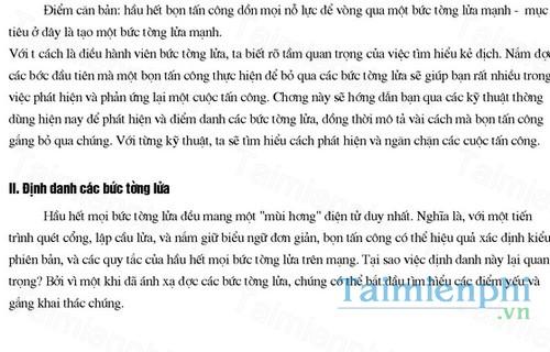 download cac kieu tan cong firewall va cach phong chong