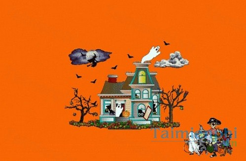 download halloween desktop theme