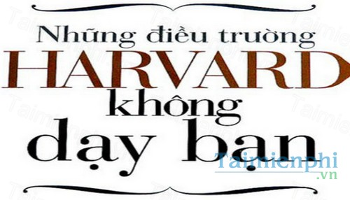 download nhung dieu khong day tai harvard