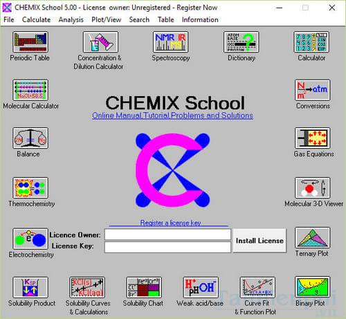 download chemix school