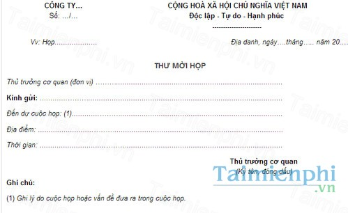 download mau thu moi hop