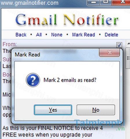 download mail notifier