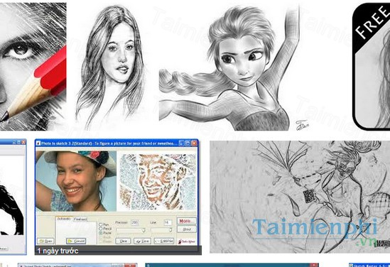 download photo to sketch