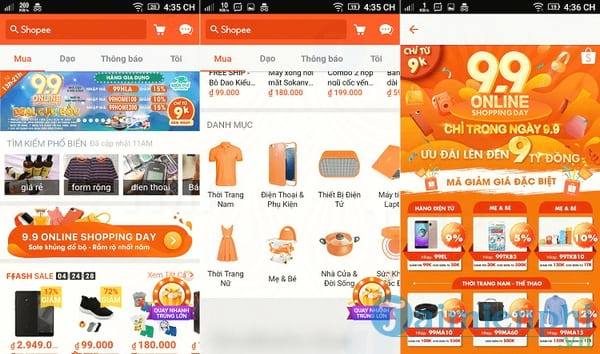 Shopee cho Android