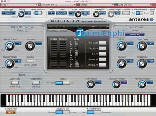 Auto-Tune Evo for Mac