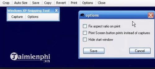 XP Snipping Tool
