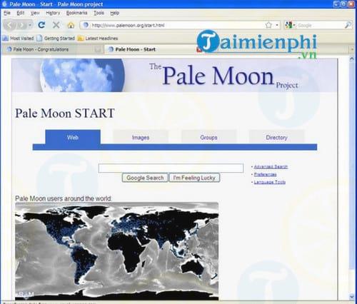 Portable Pale Moon