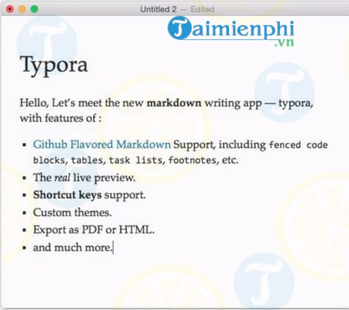 Typora for Mac