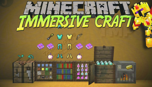 Immersive Craft Mod