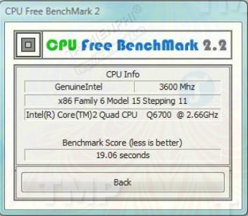 CPU Free BenchMark