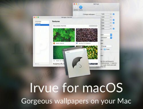 Irvue for Mac