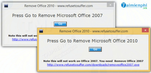 Remove Office 2007