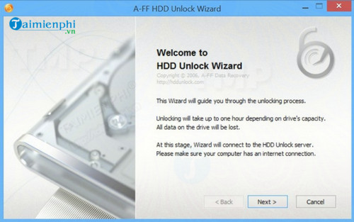 HDD Unlock Wizard