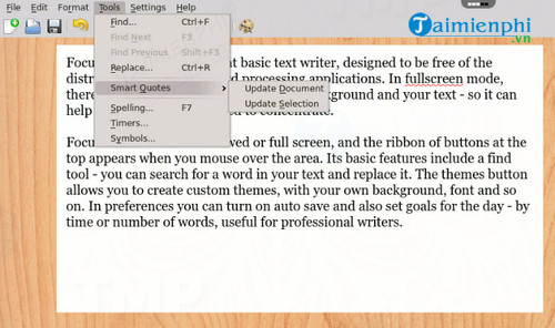 FocusWriter for Mac