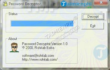 Password Decrypter