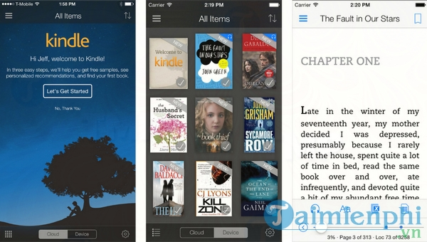 Kindle cho iOS