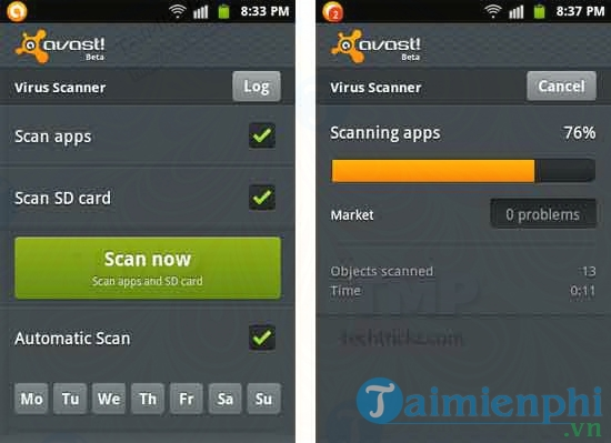 Mobile Security & Antivirus cho Android