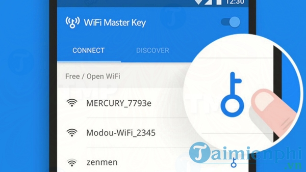 WiFi Master Key cho Android